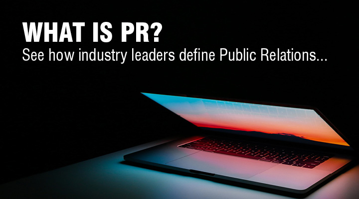 Public Relations Definition - Everything PR